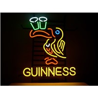 New T713 GUINNESS handicrafted real glass tube neon light beer lager bar pub club sign