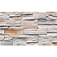 Culture Stone Wall Panel / Slate Veneer For Fireplace