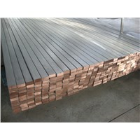 Round/Square Best price Titanium Clad Copper for Industry Using