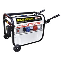 Strong square frame,3Phase 2kw gasoline generator