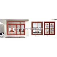 Aluminium  balcony/kitchen sliding doors from China