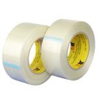 one way Fiberglass adhesive tape.JLT-607D bundling packing tape ROHS&ISO9001:2000