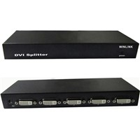 4-port DVI dual-channel HD splitter