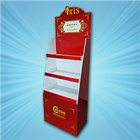 The Red Cardboard Display Stand