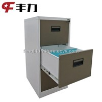 Vertical design 3 drawer metal file cabinet/filing cabinets