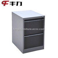 Office using vertical data cabinet/ Vertical file cabinet