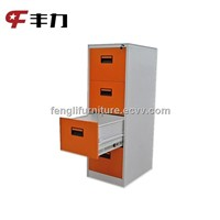 Luoyang office furniture k/d structure metal narrow storage cabinet