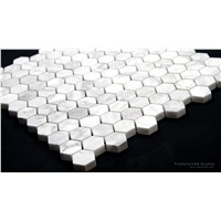 GIGA nature stone carrara mosaic bathroom marble tiles