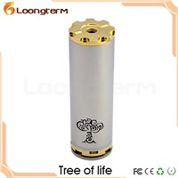 Stainless Steel 26650 Tree of Life Mod E-cigarette