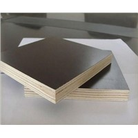 cnsturction use poplar core melamine glue film faced plywood