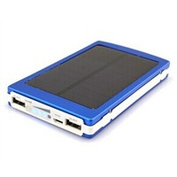 10000mAh USB Universal External Solar Battery Charger Power Bank