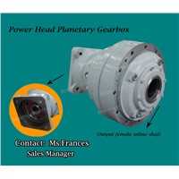 Drilling rig power head planetray gearbox