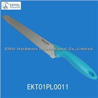 Promotional bread knife / handle color can be customized (EKT01PL0011)