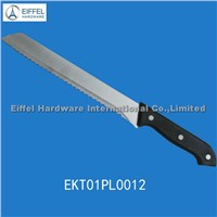 Hot sale Bread knife with PP handle/ handle color can be customized (EKT01PL0012)
