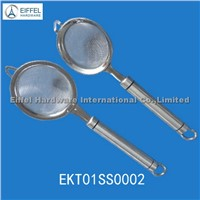 Stainless steel strainers with different sizes(EKT01SS0002)