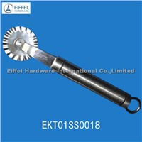 Promotional stainless steel pizza cutter (EKT01SS0018)