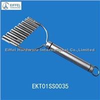 Promotional stainless steel Potato Cutter(EKT01SS0035)