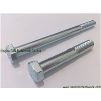 Hex Bolts with ZY&ZP DIN931 DIN933