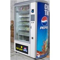 Vending machine combo for cigarette,snacks,drinks,condom,milk coin operated