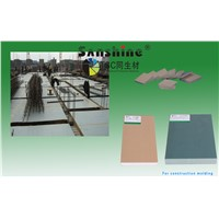 hard black pvc roof sheet for construction