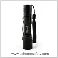 Shenzhen mini rechargeable led work flashlight with CE