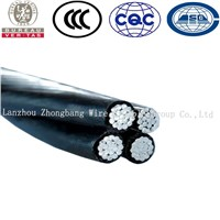 ABC cable/ XLPE/ PE Insulated Overhead Cable