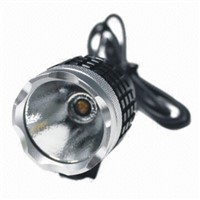 2014 hot sell 1 led Waterproof design led bike bicycle light, front light