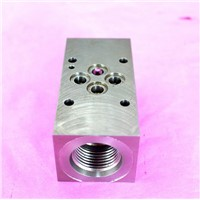 CNC processing stainless steel valves