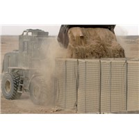 Hot-dipped Galvanized Welded Wire Hesco Baskets Military Security Hesco Bastion Wall