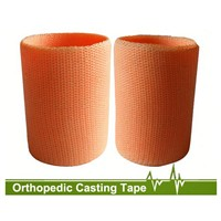Polyester orthopedic casting tape synthetic orthopedic casting tape and splint