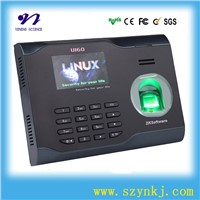 U160 FCC Linux Biometric Attendance Monitoring System WIFI Function