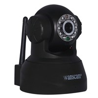 Wireless WiFi IP Camera P2p Nighti Vision IP Camera Pan /Tilt Indoor CCTV Camera (JW0008)
