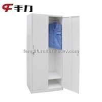 2 door steel garment locker