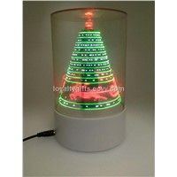 2014 Novelty Mini LED Christmas Tree decoration gifts with flash message