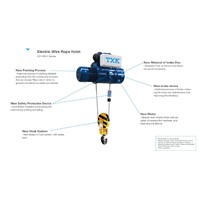 CD1/MD1 Electric Wire Rope Hoist