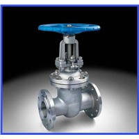 Resilient seated gate valve flanged gate valve