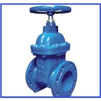 Soft seal gate valve of large diameter low pressure high quality water valve