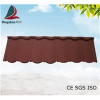 Stone Coated Metal Roofing Tile for Villa