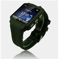 TW120G 1.54 Touch Screen Single Core 1.3MP GPS/SOS Multifunctional smart Phone Watch with Bluetooth