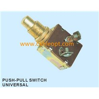 universal push -pull switch