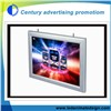 Hanging Aluminun Frame led light box for indoor using