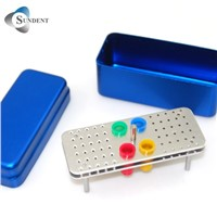 Dental Burs Holder Autoclave Sterilizer Case Disinfection Box
