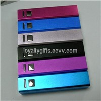 2014 Best Mobile Phone Gifts Aluminium Case Power Bank with Cheapest Price