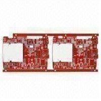 PCB Board for Keyboards with BGA Immersion Gold Board and 70um Copper Thickness