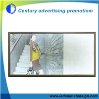 Advertising Led light box with adjustable picture