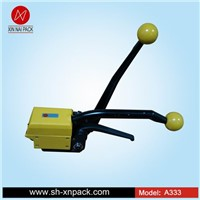 A333 handheld sealess steel strapping tool