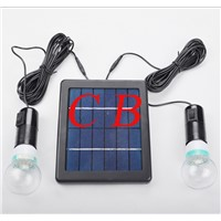 CE ROHS approved indoor 3W solar led light for home energy saving