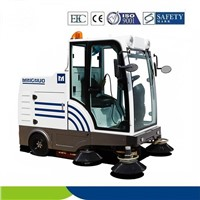 industrial battery floor sweeper