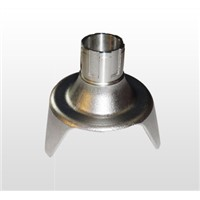 CNC machining stainless steel parts in China factory