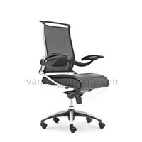 High Back Leather Office Swivel Chair B-03BS
